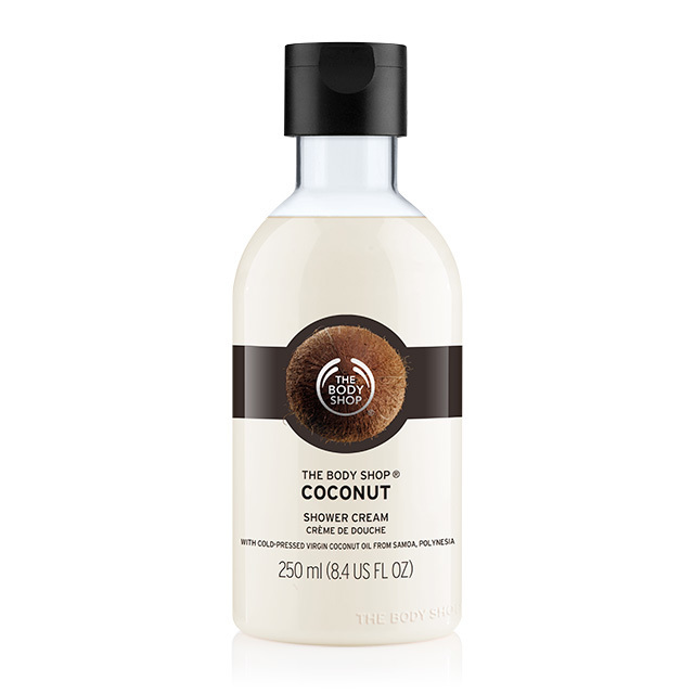 coconut shower cream