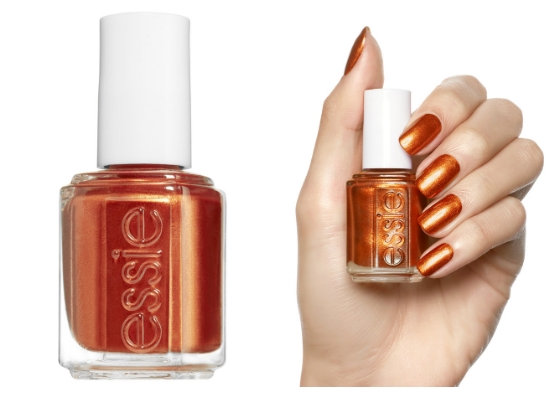 νύχια για το φθινόπωρο 2018 orange