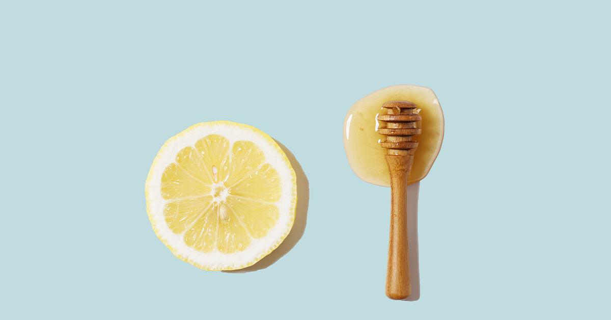 DYI Μάσκες λεμόνι μέλι