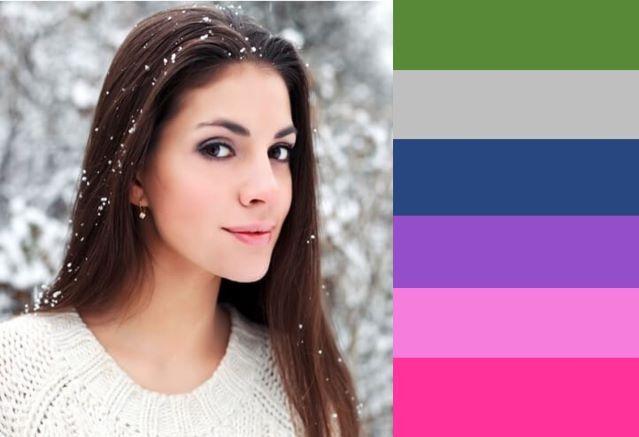 Χρωματομετρία: Χειμώνας